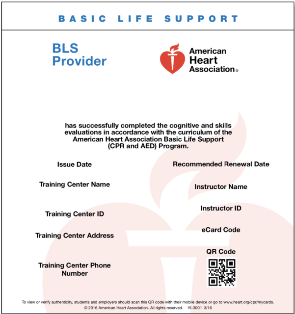 bls cpr provider register aed mission valley course location